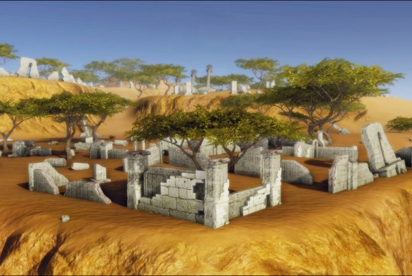 arkadia-ruin-site