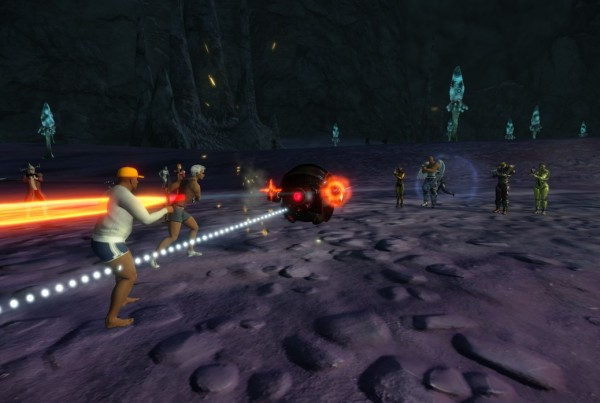 Planet Arkadia Underground Smuggler Droid